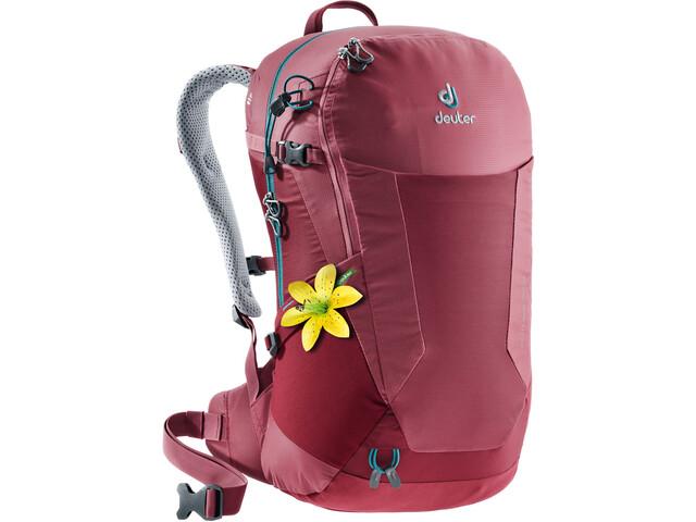 Deuter Futura 22 SL Backpack Dam cardinal-cranberry